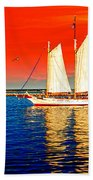 Red White Blue Cape Cod Will Do Beach Towel