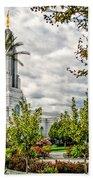 Redlands Temple Palm Beach Towel