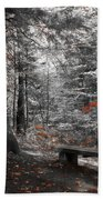 Reds In The Woods Beach Towel