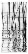 Reeds On The Turtle Flambeau Flowage Beach Towel