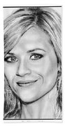 Reese Witherspoon In 2010 Beach Towel