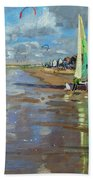 Reflection Beach Towel by Andrew Macara