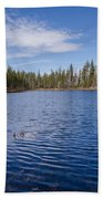Reflection Lake Beach Towel