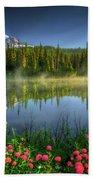 Reflection Lakes Beach Towel