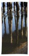 Reflections Avila Beach California Beach Towel