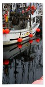 Reflections At French Creek Beach Towel by Bob Christopher