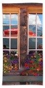 Reflections Of Switzerland Beach Towel