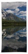 Reflections On Mount Moran Beach Towel
