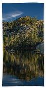 Reflections On Salmon Lake Beach Towel