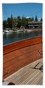Relaxing On Lake Tahoe Beach Towel