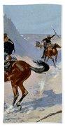 Remington: Guard, 1890 Beach Towel