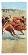 Remington: Indian Warfare Beach Towel