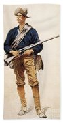 Remington: Soldier, 1901 Beach Towel