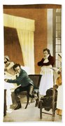 Rene Laennec, French Physician Beach Towel
