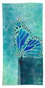 Reve De Papillon - S02a2 Beach Towel by Variance Collections