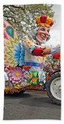 Rex Mardi Gras Parade IIi Beach Towel