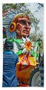Rex Mardi Gras Parade Vii Beach Towel