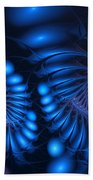 Rhapsody In Blue Beach Towel