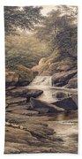 Rhiadr Ddu Near Maentwrog North Wales Beach Towel