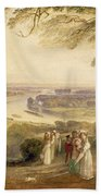 Richmond Terrace Beach Towel by Joseph Mallord William Turner