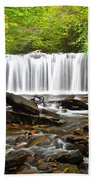 Ricketts Glen Waterfall Oneida Beach Towel