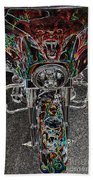Ride Like The Devil Beach Towel