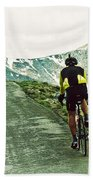 Ride The Rockies Beach Towel