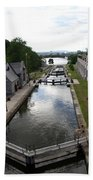 Rideau Canal And Locks - Ottawa Beach Towel