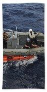 Rigid-hull Inflatable Boat Operators Beach Towel