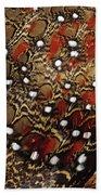 Ring-necked Pheasant Phasianus Beach Towel
