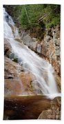 Ripley Falls - Crawford Notch State Park New Hampshire Usa Beach Towel