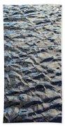 Ripples On Big Water Beach Towel
