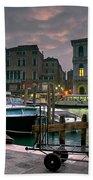 Riva Del Vin. Venezia Beach Towel