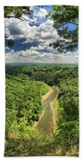 River In The Valley Beach Towel