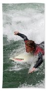 River Surfing Beach Towel