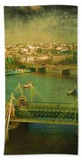 River Thames  Beach Towel