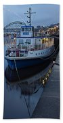River Tyne Cruise Ship Beach Towel
