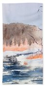 River Valley Beach Towel