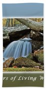 Rivers Of Living Water Beach Towel