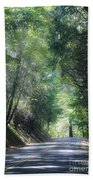 Road To Apple Hill Beach Towel