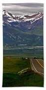 Road To The Sangre De Cristos Beach Towel