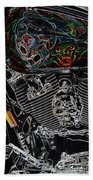 Road Warrior Beach Towel