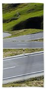 Road With Curves Beach Towel by Mats Silvan
