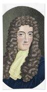 Robert Boyle, British Chemist Beach Towel
