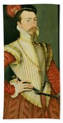 Robert Dudley - 1st Earl Of Leicester Beach Towel