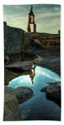Rock Balancing Grand Marais Beach Towel