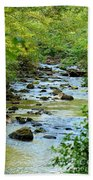 Rock Creek Bed Beach Towel