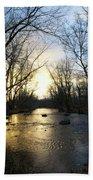 Rock Creek Near Gettysburg Beach Towel