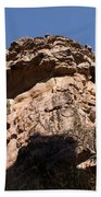 Rock Formations Bhimbhetka Beach Towel