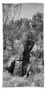 Rock Formations Beach Towel